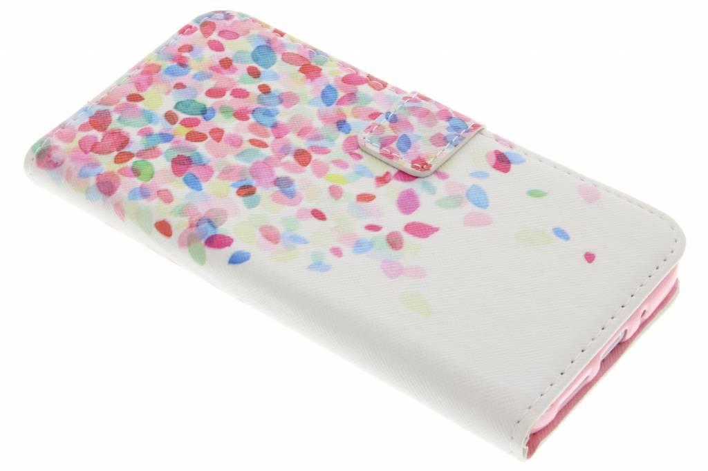 Confetti design TPU booktype hoes voor de LG G5 (SE)