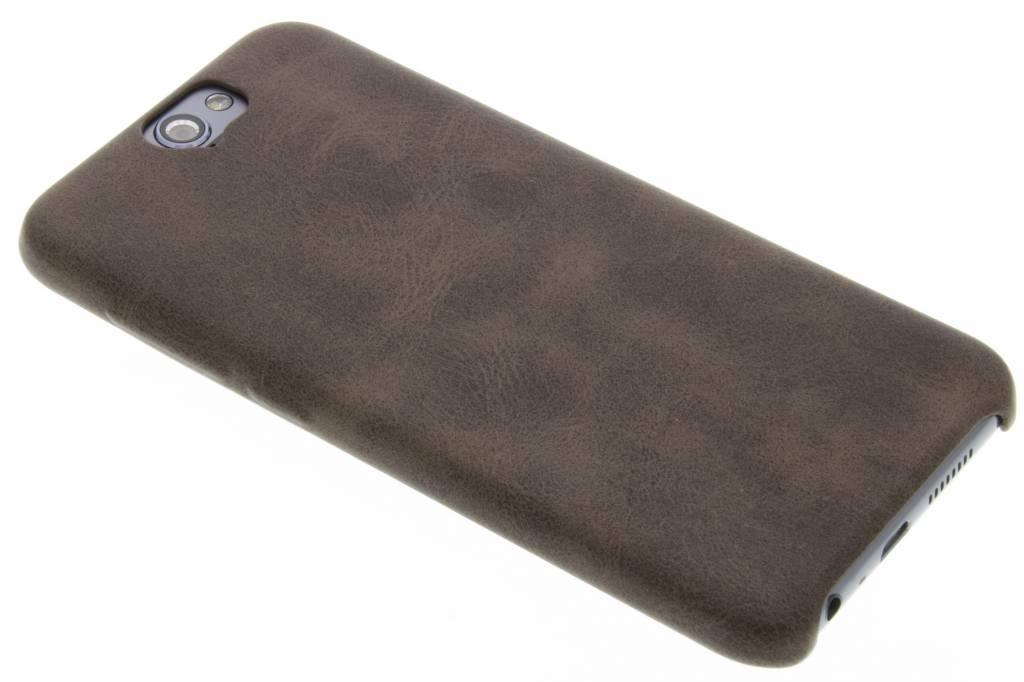 Bruine TPU leather case voor de HTC One A9