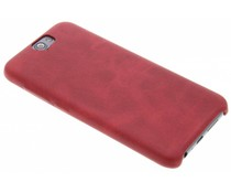 Rood TPU leather case HTC One A9