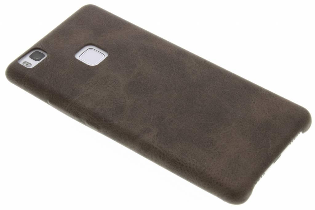 Bruine TPU Leather Case voor de Huawei P9 Lite