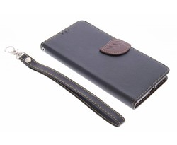 Zwart blad design booktype hoes Microsoft Lumia 640 XL