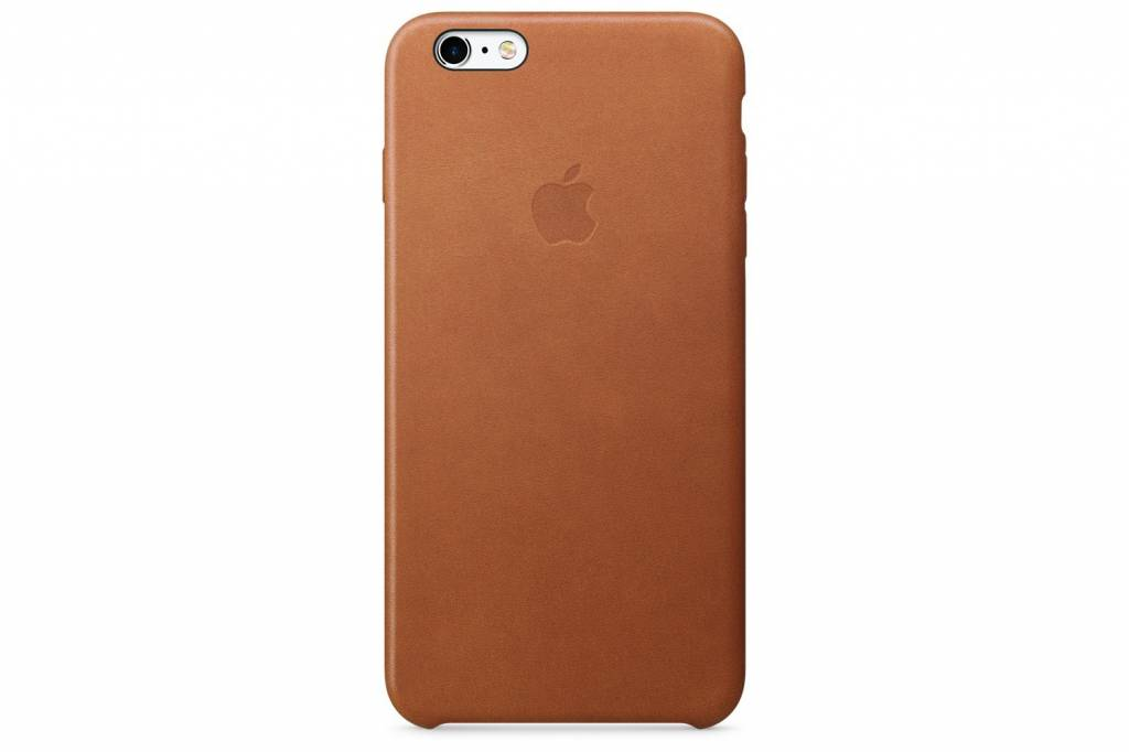 Apple Leather Case voor de iPhone 6 / 6s - Saddle Brown