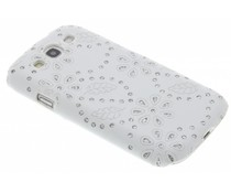 Wit bloemblad design hardcase Samsung Galaxy S3 / Neo