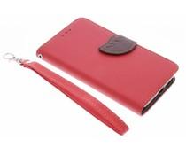 Blad design TPU booktype hoes Microsoft Lumia 650