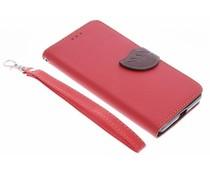 Blad design TPU booktype hoes Microsoft Lumia 950
