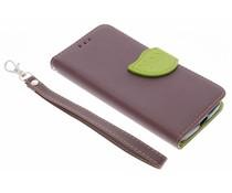Blad design TPU booktype hoes Motorola Moto X