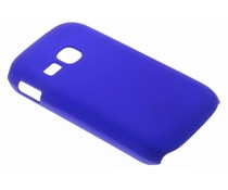 Blauw effen hardcase Samsung Galaxy Young