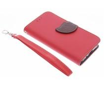 Lézard Rose Boîtier De Type Livre De Conception Pour Le Samsung Galaxy J1 JCGOFp0my