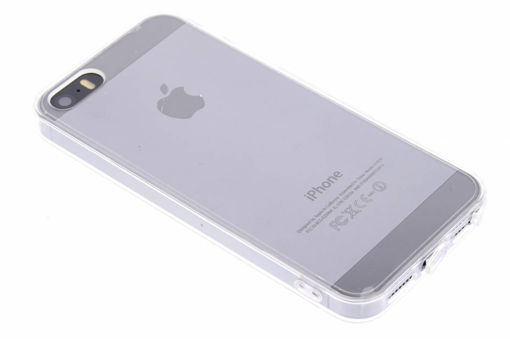 Wit Transparante TPU hardcase hoes voor de iPhone 5 / 5s / SE