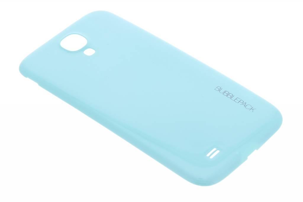 Turquoise bubblepack batterij cover voor de Samsung Galaxy S4