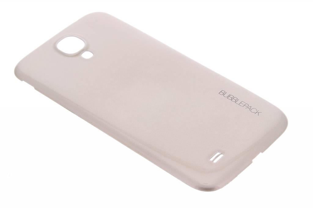 Gouden bubblepack batterij cover voor de Samsung Galaxy S4