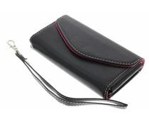 Zwart portemonnee telefoonhoesje