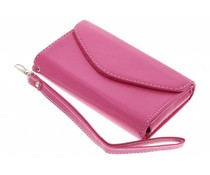 Fuchsia portemonnee telefoonhoesje