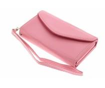 Roze portemonnee telefoonhoesje