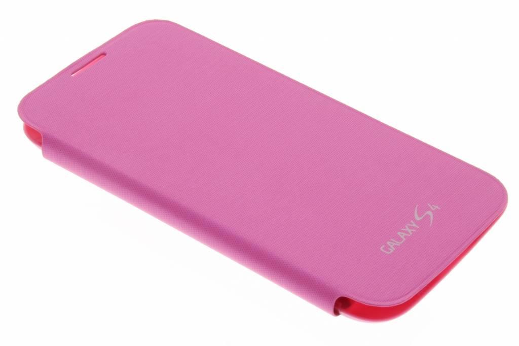 Fuchsia flipcover voor de Samsung Galaxy s4