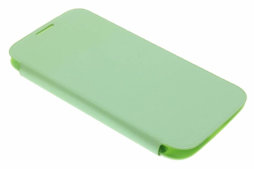 Groene flipcover voor de Samsung Galaxy s4 i9500
