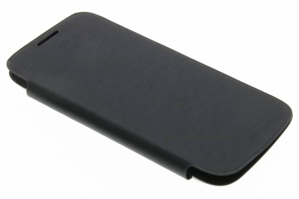 Zwarte flipcover voor de Samsung Galaxy S4 mini