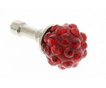 Rood bolletjes design anti-stof dust plug