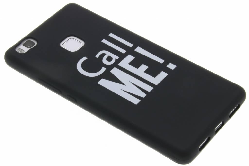 Call me! Glow in the dark TPU case voor de Huawei P9 Lite