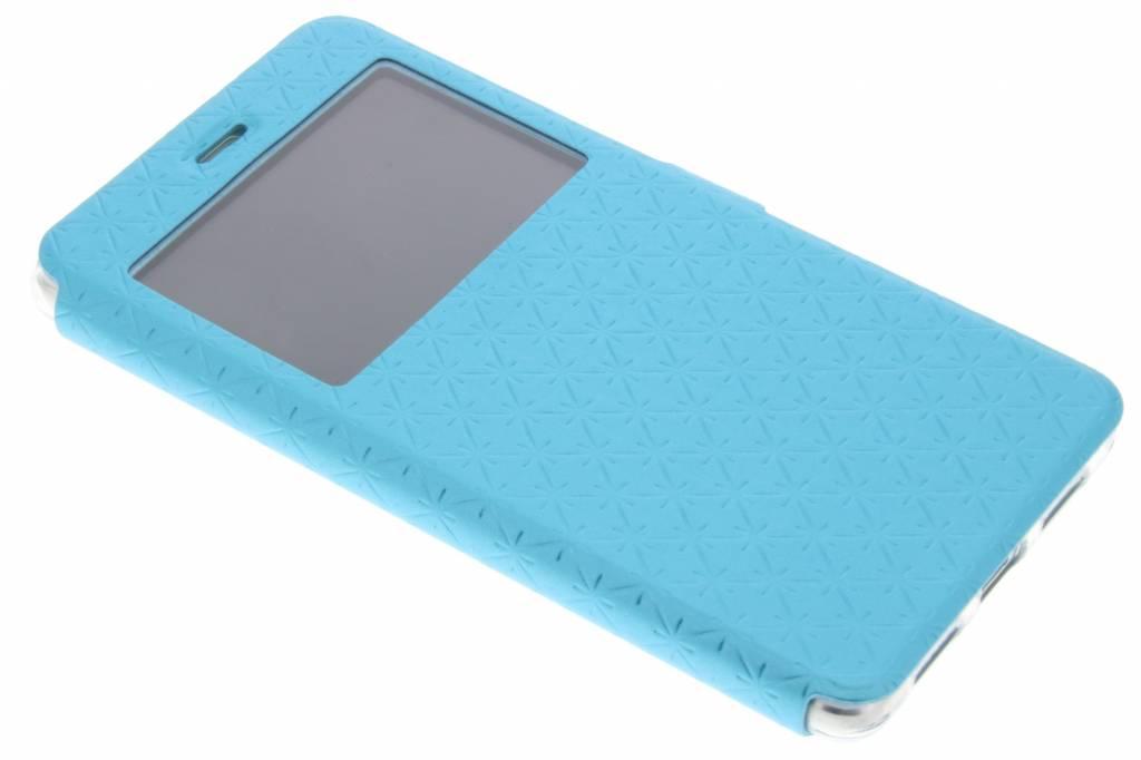 Blauw Rhombus hoesje voor de Huawei P9 Lite