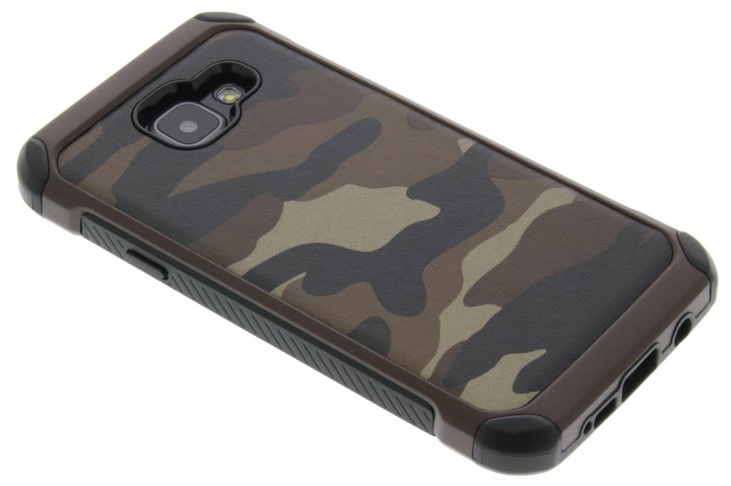 Bruin army defender hardcase hoesje voor de Samsung Galaxy A3 (2016)