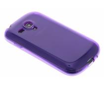 Transparant gel case Samsung Galaxy S3 Mini