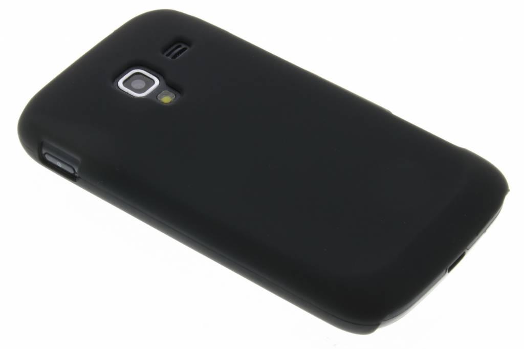 Zwart effen mat gekleurde hardcase voor de Samsung Galaxy Ace 2 i8160