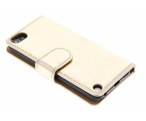 Metallic booktype hoes iPod Touch 5g / 6