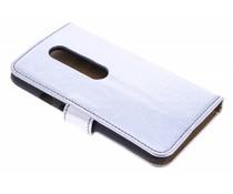 Metallic booktype hoes Motorola Moto G 3rd Gen 2015