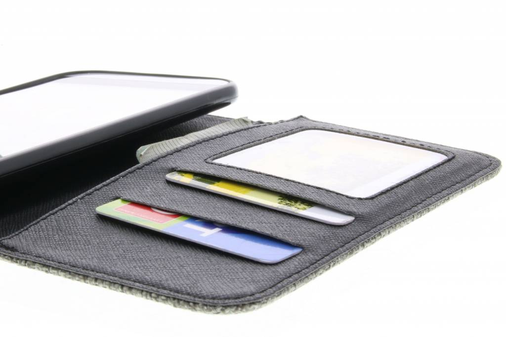 Aspect Lin Vert Cas Booktype Tpu Pour Samsung Galaxy A5 (2016) Qft9NM3