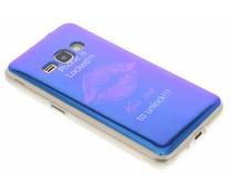 Metallic design TPU hoesje Samsung Galaxy J1 (2016)