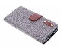 Linnen look TPU booktype Galaxy S5 (Plus) / Neo