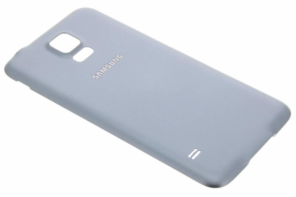 Samsung originele Geperforeerde Back Cover voor de Galaxy S5 (Plus) / Neo - Zilver