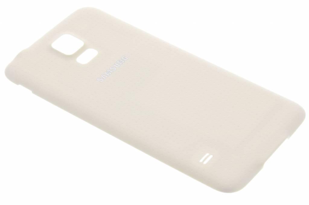 Samsung originele Geperforeerde Back Cover voor de Galaxy S5 (Plus) / Neo - Wit