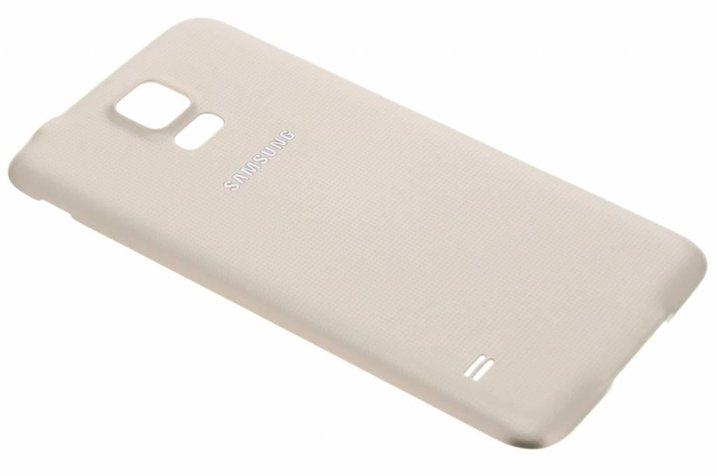 Samsung originele Geperforeerde Back Cover voor de Galaxy S5 (Plus) / Neo - Brons
