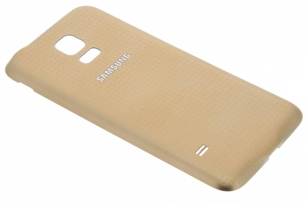 Samsung originele Geperforeerde Back Cover voor de Galaxy S5 mini - Goud