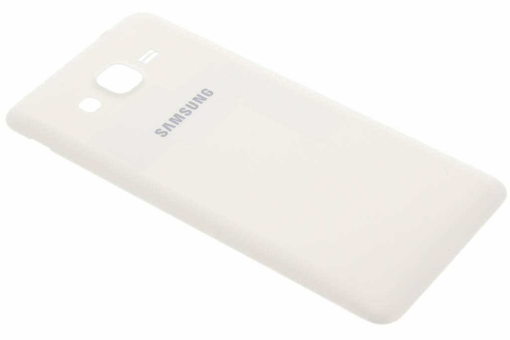 Samsung originele Metallic Back Cover voor de Galaxy Grand Prime - Wit