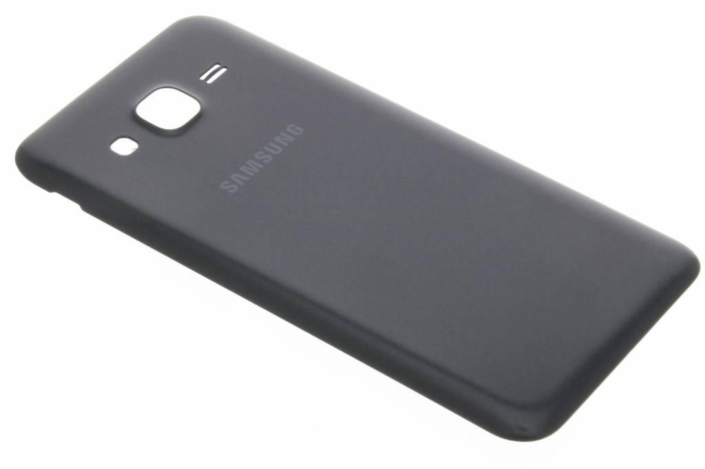 originele Metallic Back Cover voor de Samsung Galaxy J5 - Zwart
