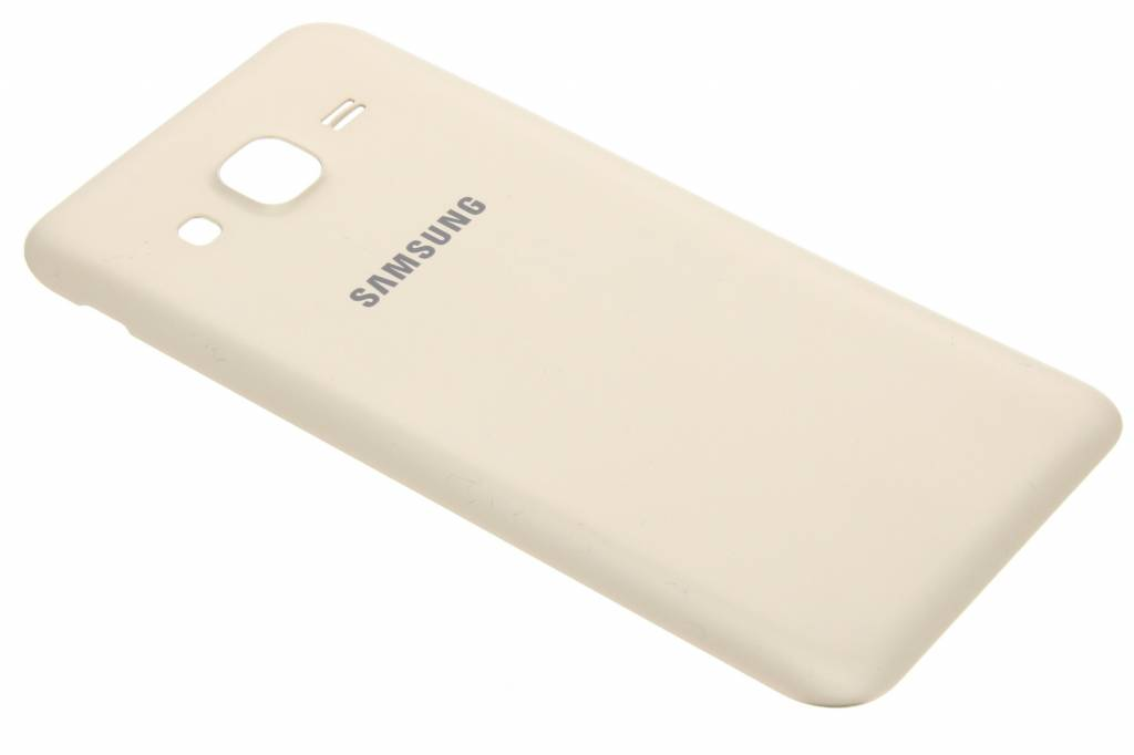 Samsung originele Metallic Back Cover voor de Samsung Galaxy J5 - Goud