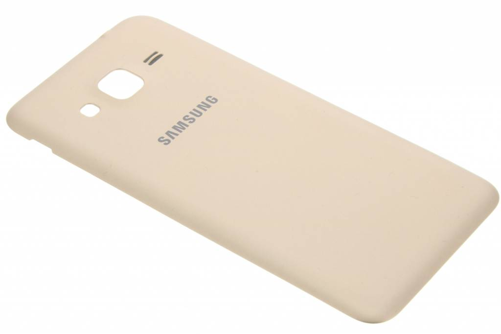 Samsung originele Metallic Back Cover voor de Samsung Galaxy J3 / J3 (2016) - Goud