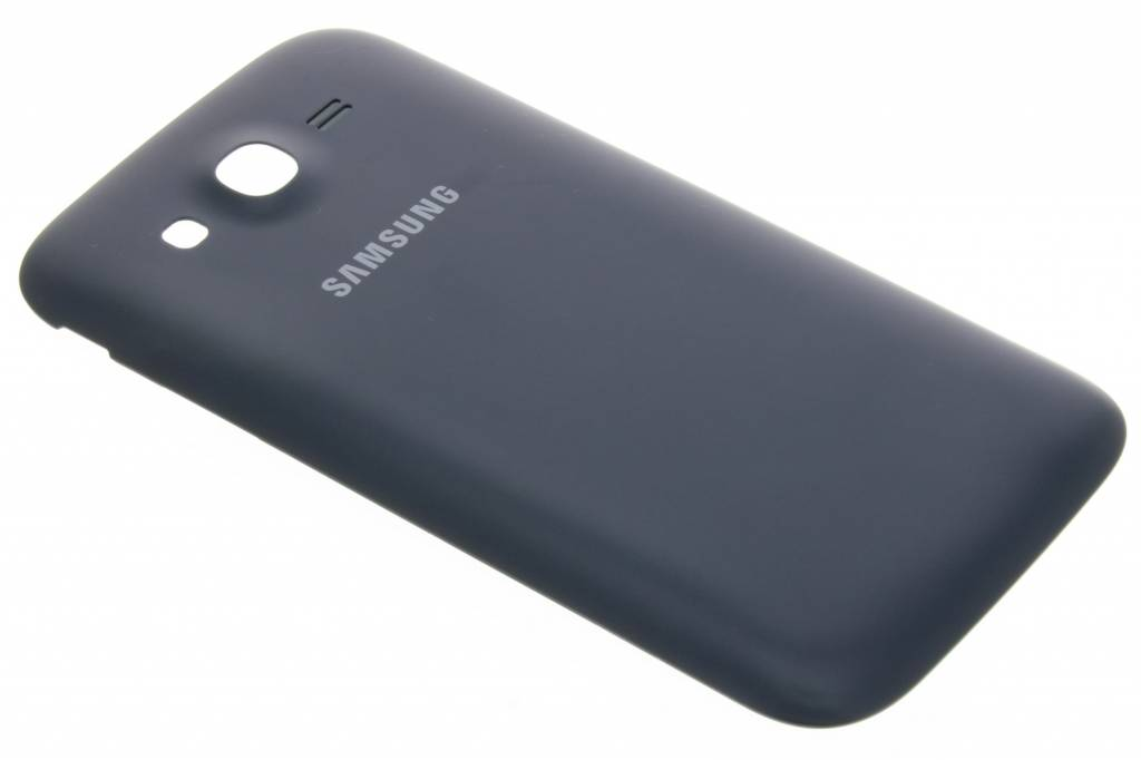 Samsung originele Metallic Back Cover voor de Samsung Galaxy Grand (Neo) - Zwart