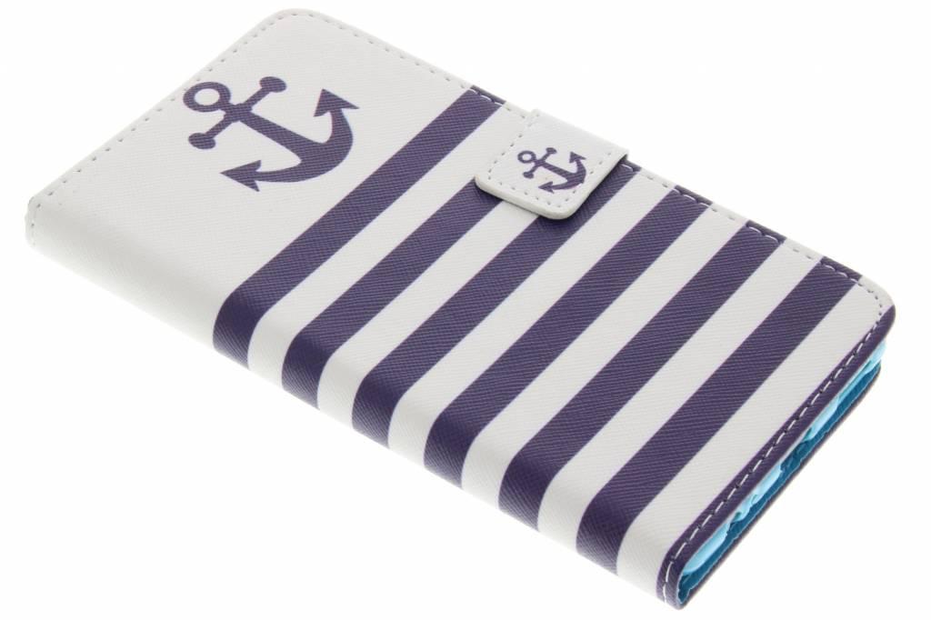 Anker design TPU booktype hoes voor de Huawei P9 Plus