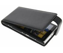 Zwart stijlvolle flipcase Nokia Lumia 920