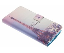 Design TPU booktype hoes HTC 10