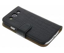 Krokodilskin booktype hoes Samsung Galaxy S3 / Neo
