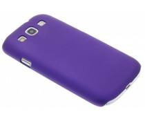 Paars effen hardcase Samsung Galaxy S3 / Neo