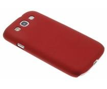 Rood effen hardcase Samsung Galaxy S3 / Neo