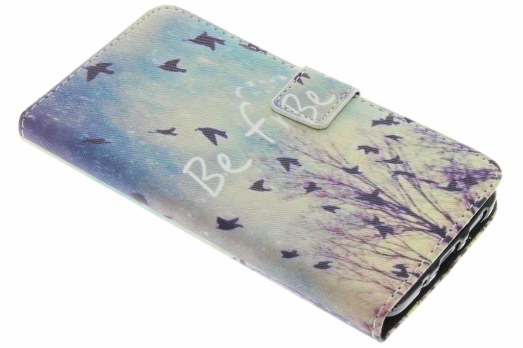 Be free design TPU booktype hoes voor de HTC 10