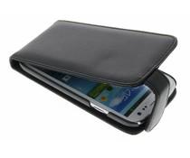 Zwart stijlvolle flipcase Samsung Galaxy S3 / Neo