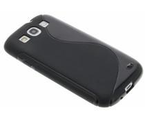 Zwart S-line TPU hoesje Samsung Galaxy S3 / Neo